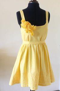 Sunflower Etsy Dress