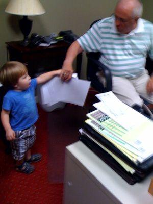 Work paper to Papaw 1